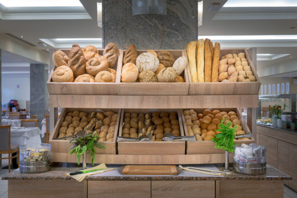 Artemis Main Restaurant Bread Buffet