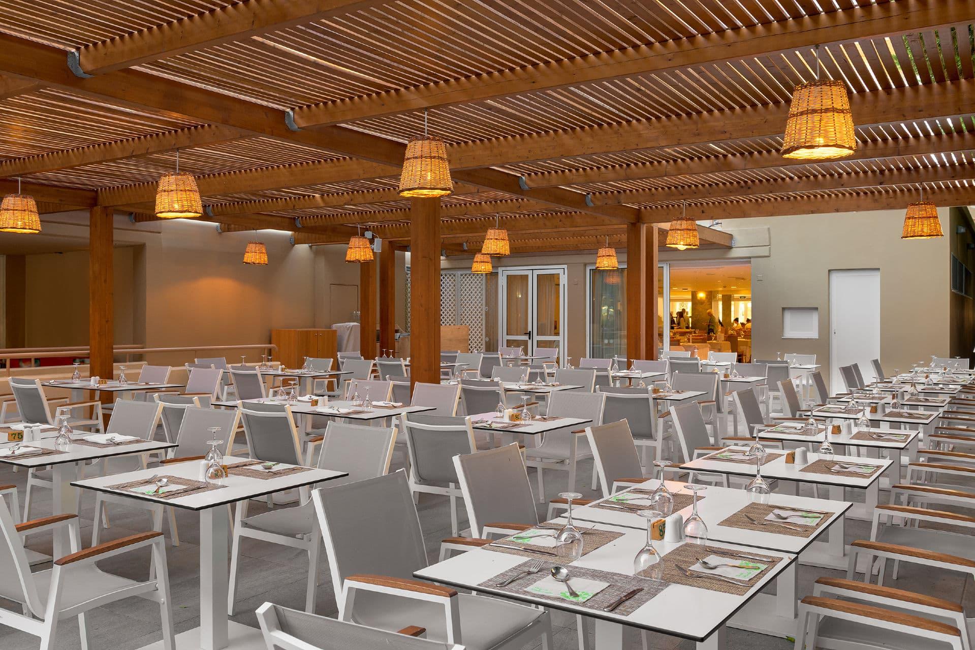 Artemis Main Restaurant Terrace
