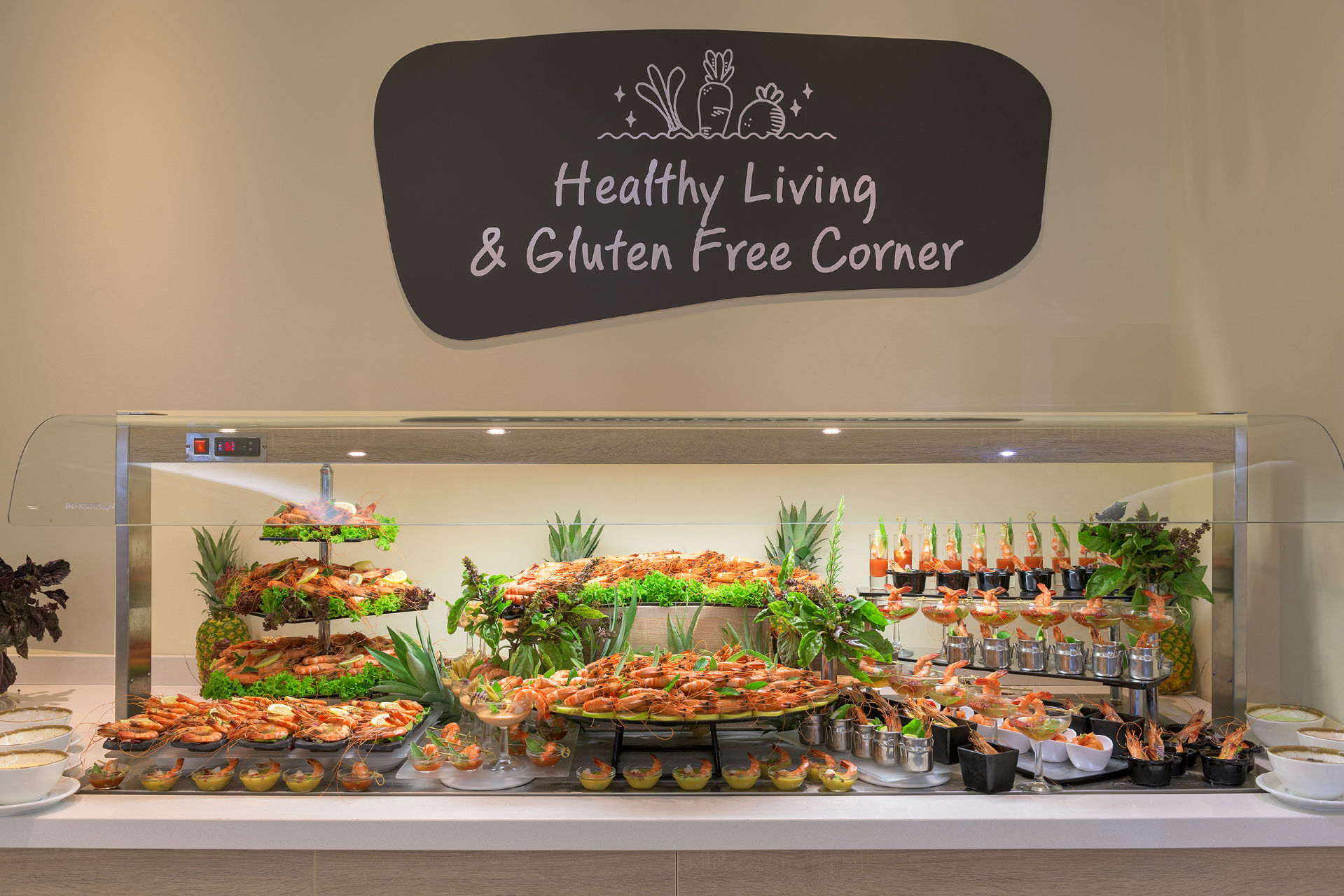 Artemis Main Restaurant Healthy Corner