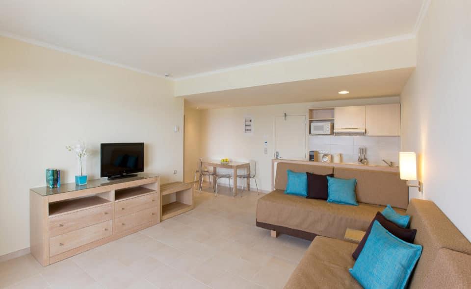 Deluxe Suite Garden View Living room