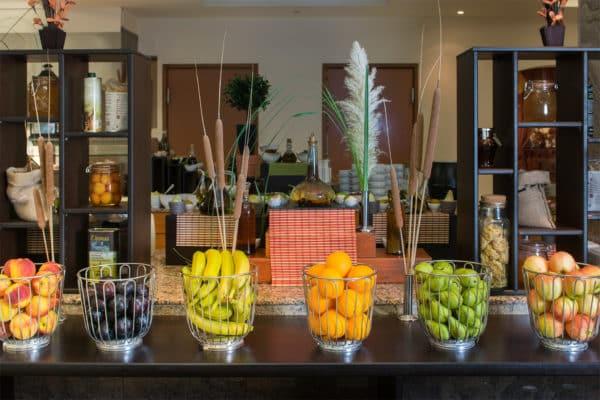 Artemis Main Restaurant fruit buffet