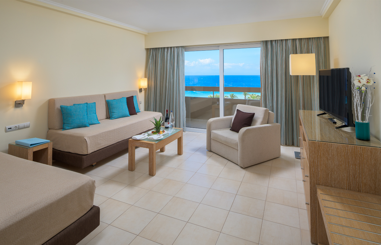 Deluxe Suite Sea View Living room
