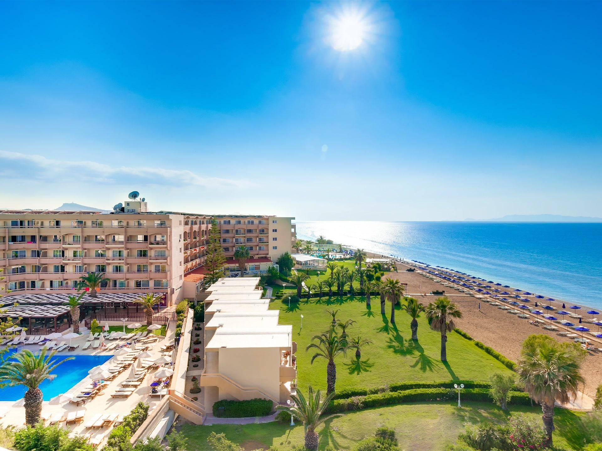 Sun Beach Aparthotel Aerial