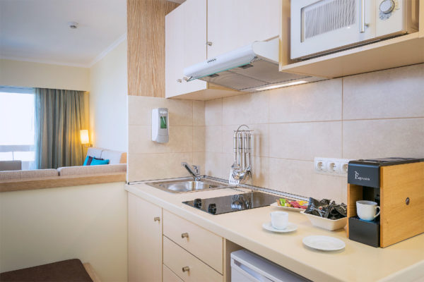 Deluxe apartments Kitchenette