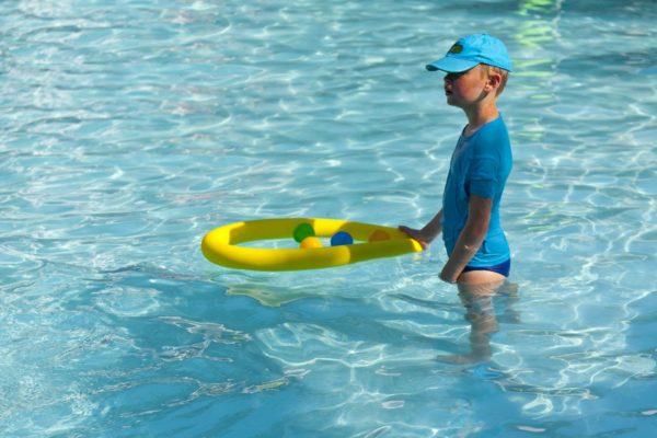 Children pool activities